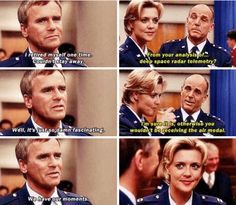 Stargate SG1 - #Jack O'Neill meeting Jacob #Carter #SamJack a suspicious future father in law