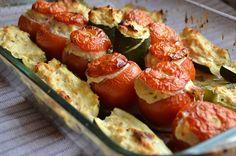 Légumes farcis au poulet : une recette facile et allégée (moins de 300 calories)