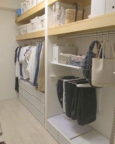 Interior Design Inspiration, Home Interior Design, Japanese Apartment, Wardrobe Design, Tidy Up, New Home Designs, Walk In Closet, Home Decor Kitchen, Closet Organization
