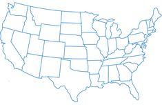 Printable USA Map