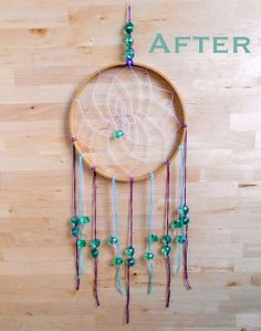 We Can Re-Do It: Embroidery Hoop Dream Catcher