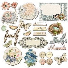 Fairy Belle Chipboard Embellishment Pieces by Prima Marketing, $4.99