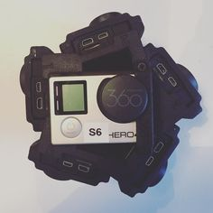 An awesome Virtual Reality pic! GoPro Hero 4 cameras X 6 installed. Now to start doing a full test with Kolor. #freedom360 #freedom360video #freedom360broadcaster #goprohero4 #virtualreality #360vr #360video #thefuture #sense6 #sense360 by sense6 check us out: http://bit.ly/1KyLetq