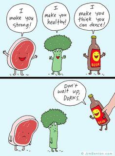 Beer Always Works Its Magic