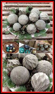28 Highly Creative DIY Concrete Projects For Your Household homesthetics concrete Cutest Outdoor Concrete Projects For Your Home! Super easy and cheap.I would love some of these in the true concrete color.This says: 28 Cutest Outdoor Concret Cement Art, Concrete Crafts, Concrete Art, Concrete Garden, Concrete Stool, Diy Concrete Planters, Gravel Garden, Concrete Design, Garden Crafts