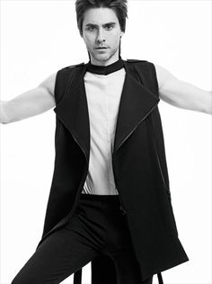 In the new issue .... @jaredleto shot by @radhourani ... Look out for this!