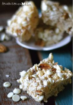 White Chocolate Pecan Rice Krispies Treats® — This twist of the classic kid-friendly snack is a great addition to your dessert platter and such an easy twist on an already simple recipe. Make these chewy bites for your next party to see just how delicious they really are!