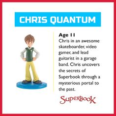 Join Chris as he travels through time and space to relive your favorite stories of the Bible with Superbook. Your kids can watch Superbook with their own Chris toy (US Only): http://go.superbk.co/toys Through Time And Space, His Travel, Miss You, Opportunity, Join, I Miss U, Missing U, Missing You Love, Missing Someone