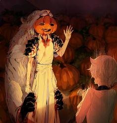 ハッピーハロウィン Manga Anime, Anime Art, Touken Ranbu Characters, Anime Halloween, Handsome Anime, Manga Comics, Character Inspiration, Otaku, Creepy