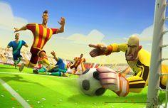 Disney bola é o primeiro jogo de futebol da #Disney para dispositivos móveis. Vem saber mais no blog. { #felizcompouco }