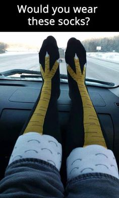I found some socks for Sweet Dee