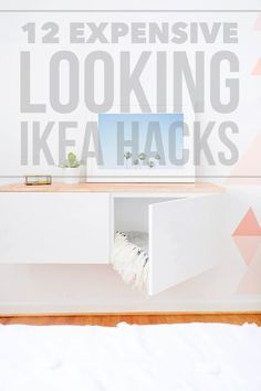 DIY projects to transform everyday idea furniture to chic alternatives | 12 Expensive Looking IKEA Hacks (photo by Sugar & Cloth)
