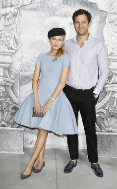 Celebrities en el desfile Alta Costura de Chanel: Diane kruger y Joshua Jackson