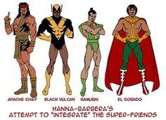 DC comics superfriends standup figures to color Harvey Birdman, Arte Nerd, Alex Toth, Dc Comics Heroes, Saturday Morning Cartoons, Samurai Warrior, Classic Cartoons, Detective Comics, Vintage Comics