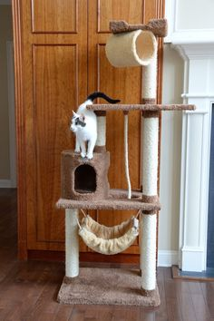 ARMARKAT'S LUXURY CAT TREE – FREE SHIPPING AND TAX INCLUDED on all designer cat trees.  No hidden fees on our website. Add style to your home with our luxury cat furniture.  Watch your kitties play and have fun our cat trees/cat condos. Shop now from and add style to your home with our luxury cat trees. These can also be used as scratching posts too! ON SALE TODAY!  #cat #cattree #designercattree #catcondo #kittycondo #scratchingpost #designerpetfurniture
