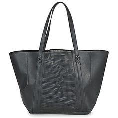 Velké+kabelky+ +Nákupní+tašky+Pepe+jeans+TWIN+Černá fbde5334fea