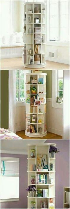 40 clever storage ideas that will enlarge your space space . - 40 clever storage ideas that will enlarge your space # Small spaces - Diy Casa, Small Room Design, Design Room, Interior Design Ideas For Small Spaces, Wall Design, Design Design, My New Room, Home Organization, Organizing Ideas