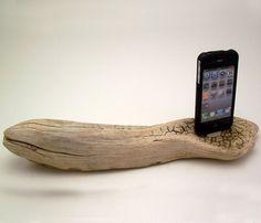 Driftwood iPhone 4 Dock