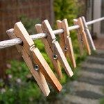 GBP - 24 Large Wooden Pegs Clothes Hanging Washing Line,Airer,Dryer,Quality Spring & Garden Laundry Detergent Recipe, Powder Laundry Detergent, Spring Fair, Summer Fair, Spring Summer, Vermont, Lava, Build A Rocket, Fete Ideas