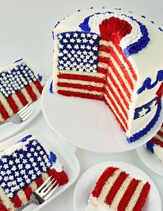 Flag Cake and Tutorial