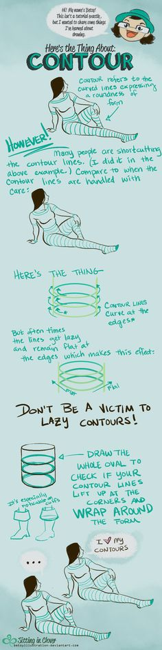 Here's the Thing About Contour by betsyillustration.deviantart.com on…