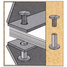 Screw posts, also known as Chicago screws or book binding posts, are extremely versatile binders that allow loose documents of practically any shape or size to be securely bound together.
