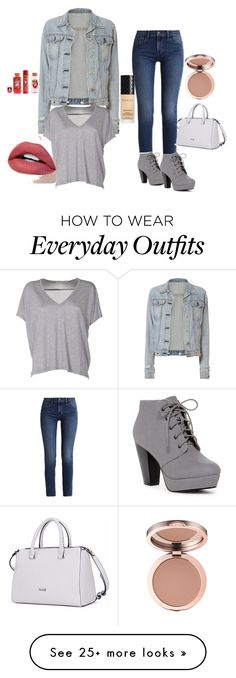 """""""Cute everyday outfit"""" by maceyantill on Polyvore featuring rag & bone, Acne Studios, Calvin Klein and Gucci"""