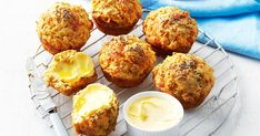 Use flora original to whip up these cheesy pumpkin and chia muffins! Great for a morning snack or as a side for soup!