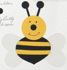 stampin up bumblebee punch art - Google Search