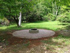 Circular DIY Brick Patio www.brooklynlimestone.com