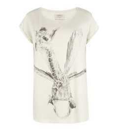 Who wouldn't want this dragonfly-giraffe hybrid graphic tee?? Precious T-shirt (Sale, Sale Women, AllSaints Spitalfields)