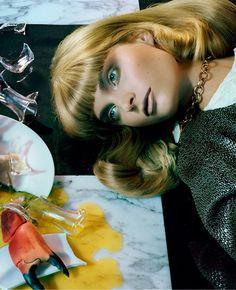 Vogue Italia December 2013 by Miles Aldridge