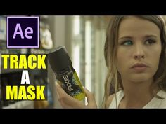 After Effects: TRACK A MASK - Tutorial