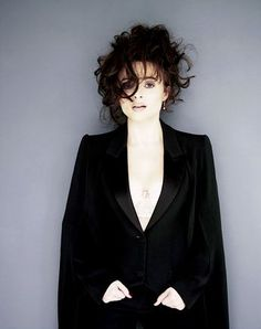 """""""When I was young I had so many inferiority complexes. I had an inferiority complex because I didn't go to university. I had an inferiority complex because I didn't train. Then it gets tiring. And you do get bored of it.""""        #helena bonham carter"""