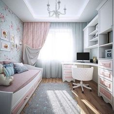 A whole new mood in the hall – with Desenio – Furnishings Ideas Small Room Bedroom, Home Bedroom, Girls Bedroom, Bedroom Decor, Girl Bedroom Designs, Kids Room Design, Home And Deco, Dream Rooms, Home Interior