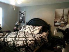 Image result for black and white damask blanket