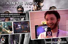 GONG [SAINTS ROW III] - Rencontre avec Kenny Schwarz, producteur associé ! http://gong.fr