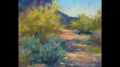 Arizona in April. Plein Air Pastels by Karen Margulis