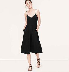 Mid-Length Cami Dress | Loft