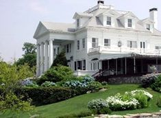 Inn at Mystic~Connecticut:  The Gate House has the romantic distinction of being the hideaway where Humphrey Bogart and Lauren Bacall honeymooned in 1945.