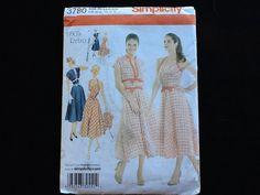Simplicity pattern 3780. OOP uncut misses' 1950s by Stitchandzip