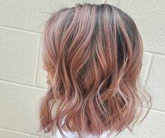 Rose gold: A cor que fez a cabeça e o cabelo de muita gente!