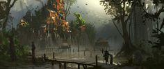 Swamp Slums by Kurobot on DeviantArt