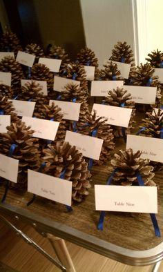 Wedding Decor - Escort cards