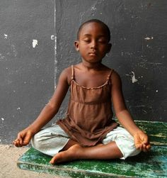 "Beautiful! ""If every 8 year old in the world is taught meditation, we will eliminate violence from the world in one generation."" ~Dalai Lama"