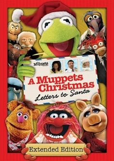 Love The Muppets Christmas specials, including A Muppets Christmas Letters to Santa. #muppets
