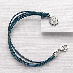 Bead/Charm Bracelets. Buy Landscapes Teal Bracelet from Pia Jewellery