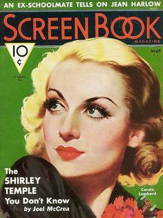 Carole Lombard - Screen Book.
