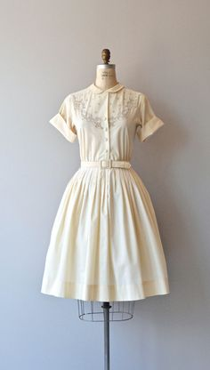 A La Mode dress vintage 1950s dress 50s by DearGolden on Etsy