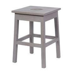 Zu finden auf http://www.my-little-store.de/ieer5p28f30a8zls:194 Holzhocker in Grau von Die Wohngeschwister Schöner Sitzhocker aus Mangoholz von HK living. Der praktische Hocker kann wunderbar als kleiner Beistelltisch umfunktioniert werden, falls er mal nicht zum Sitzen gebraucht wird. Material: Mangoholz Maße: 31,5 cm x 31,5 cm x 47 cm